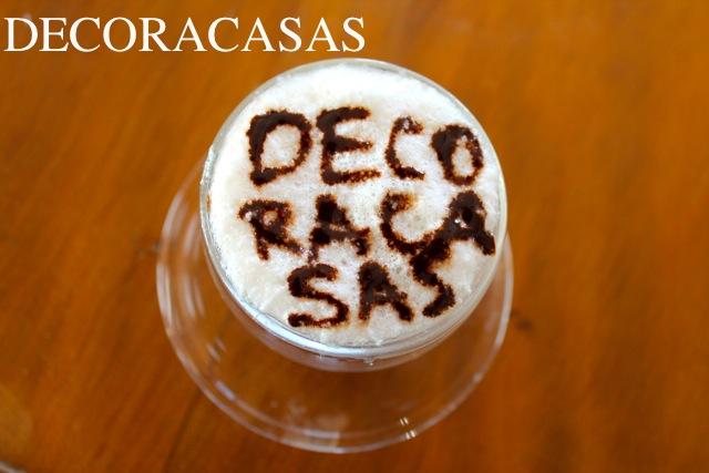 decorar cafés
