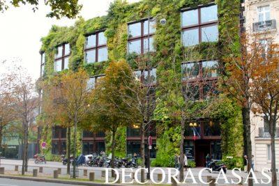 super fachada verde