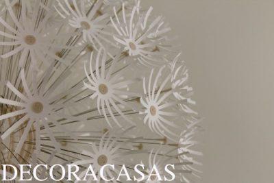 flores no teto