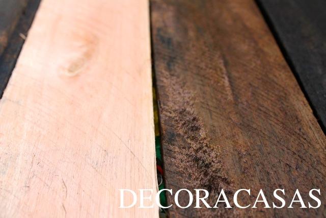 envelhecer madeira