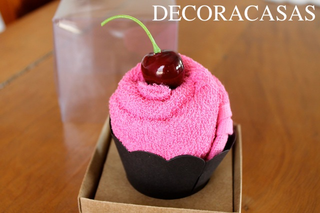 cupcake de toalha1