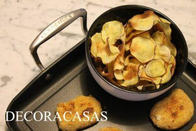 chips de batata doce – a receita