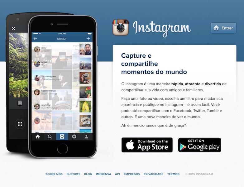como abrir uma conta no instagram