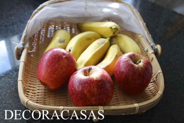 amadurecimento de frutas