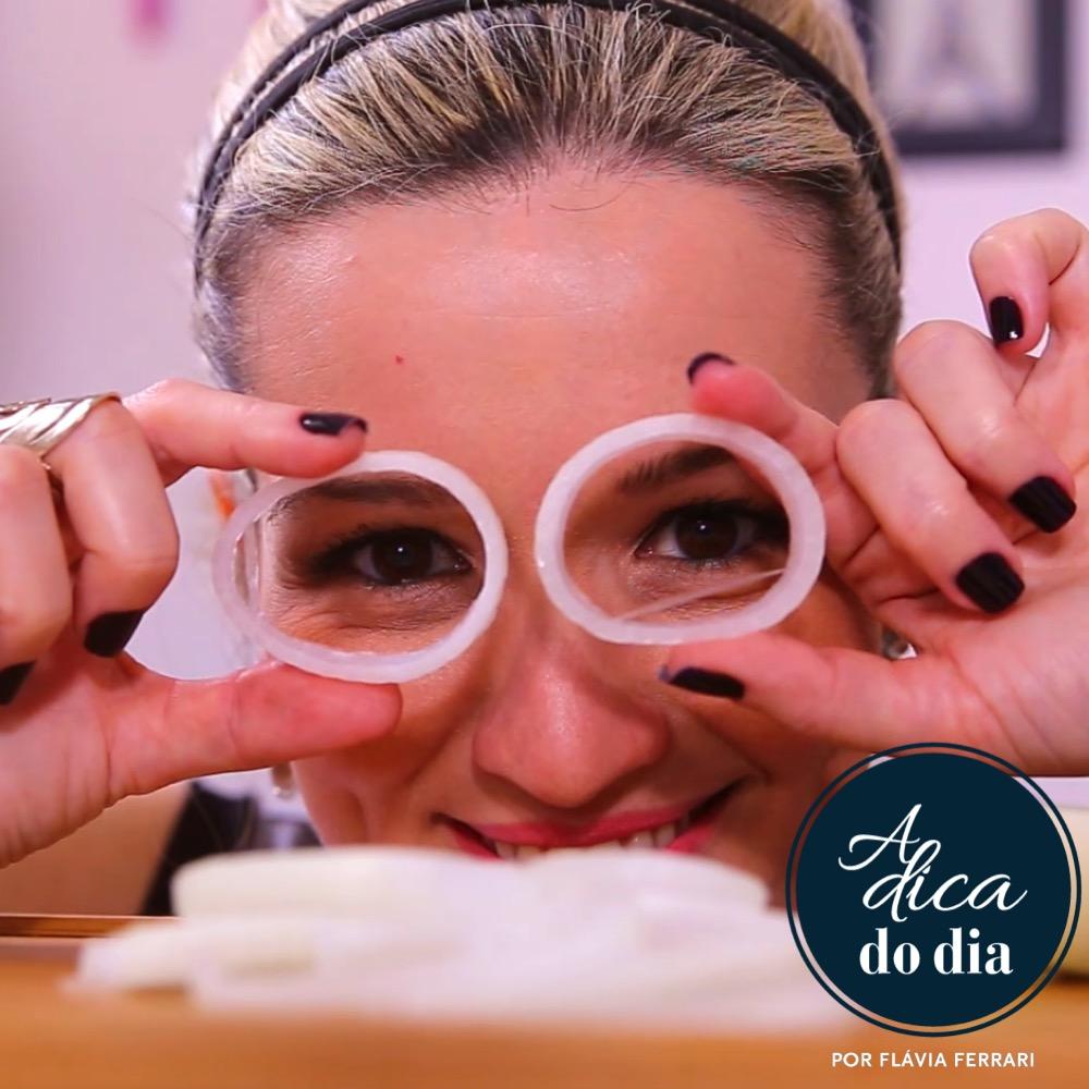cortar cebola sem chorar | #aDicadoDia