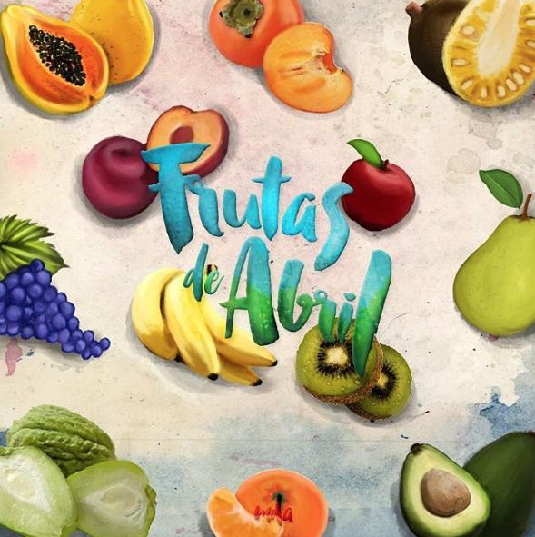 frutas de abril | frutas de temporada