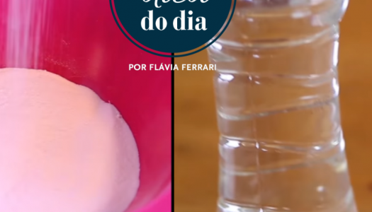 devo usar bicarbonato ou vinagre? | #aDicadoDia