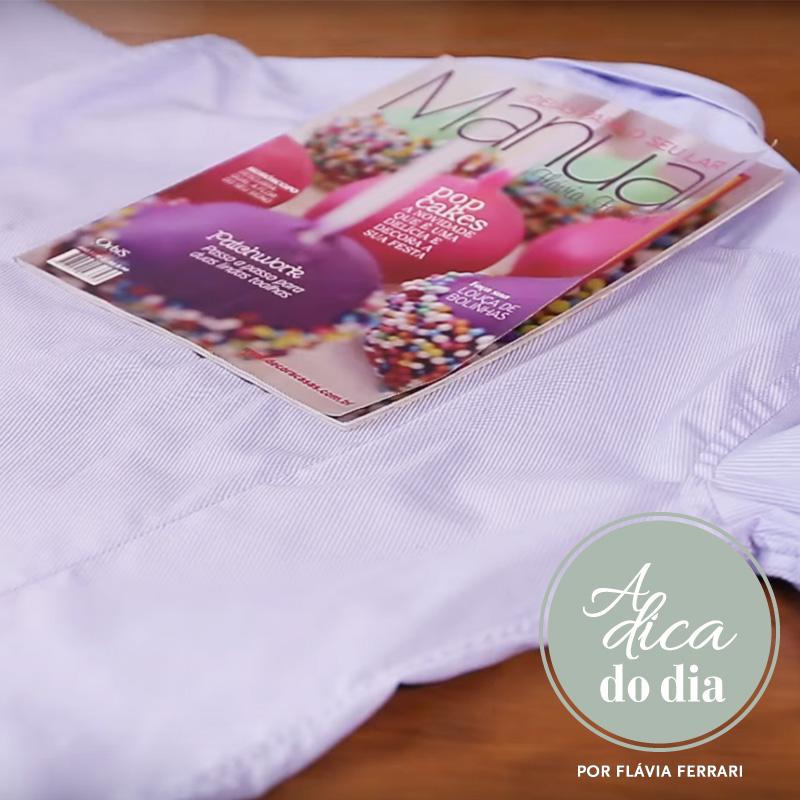 Camisa e Revista