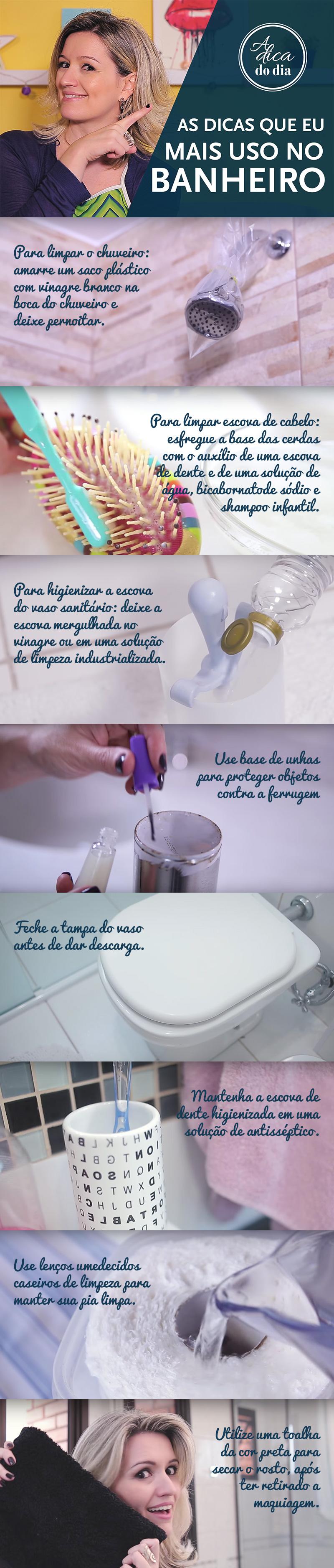 8 dicas para manter seu banheiro sempre limpo e organizado