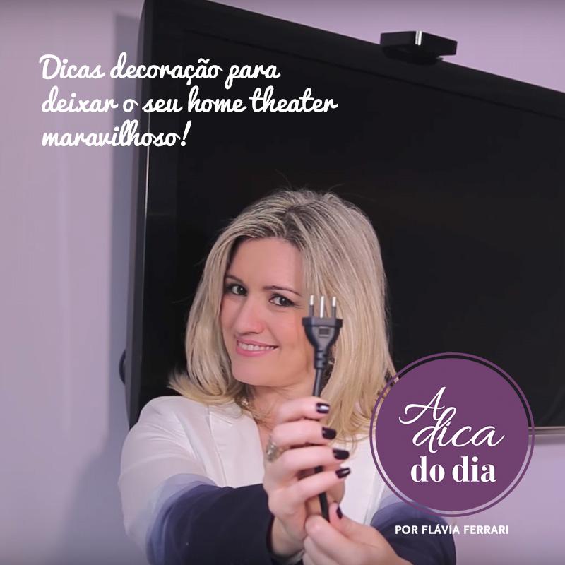 Dicas de decoração para deixar o seu home theater maravilhoso