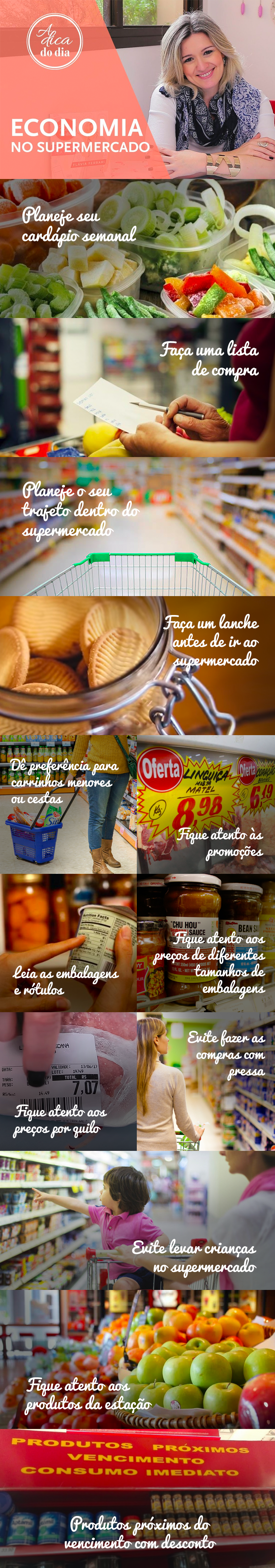 Aprenda a reduzir os gastos, aprenda como economizar no supermercado