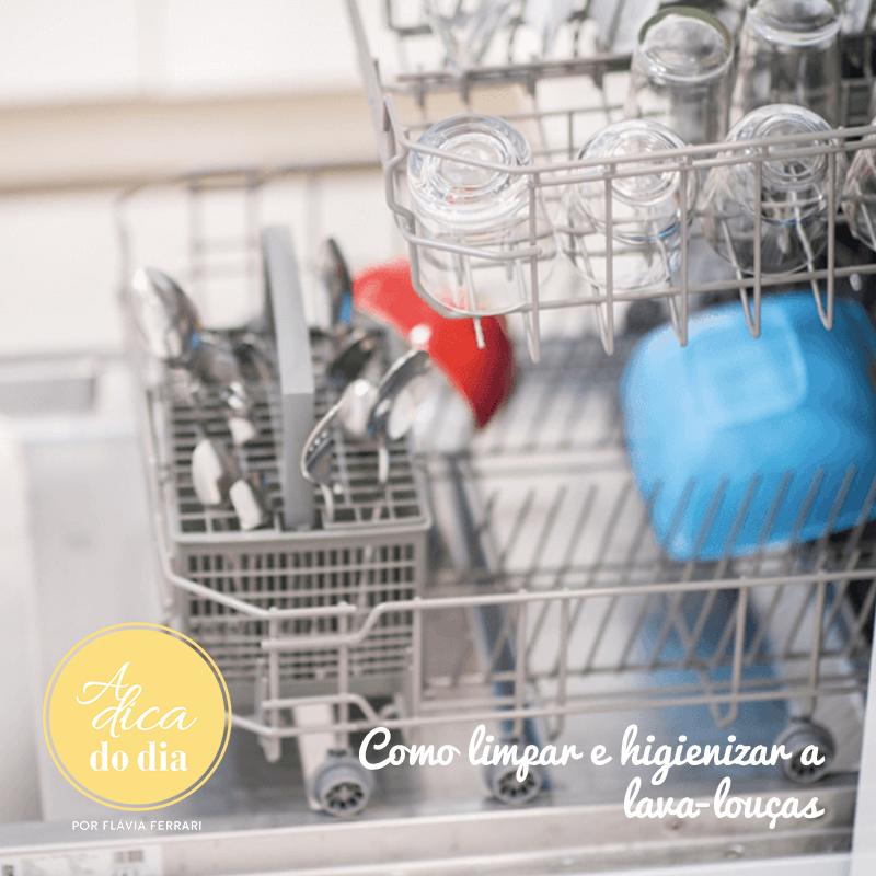 Aprenda uma excelente maneira de deixar sua lava-louças limpinha!