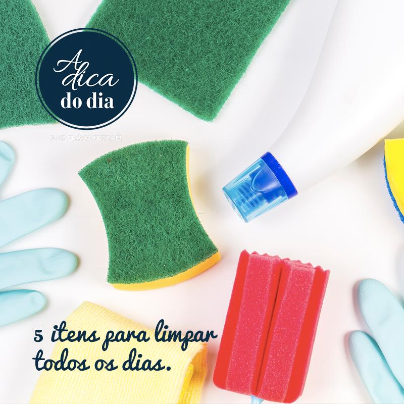 Dicas de limpeza para manter sua casa sempre limpa