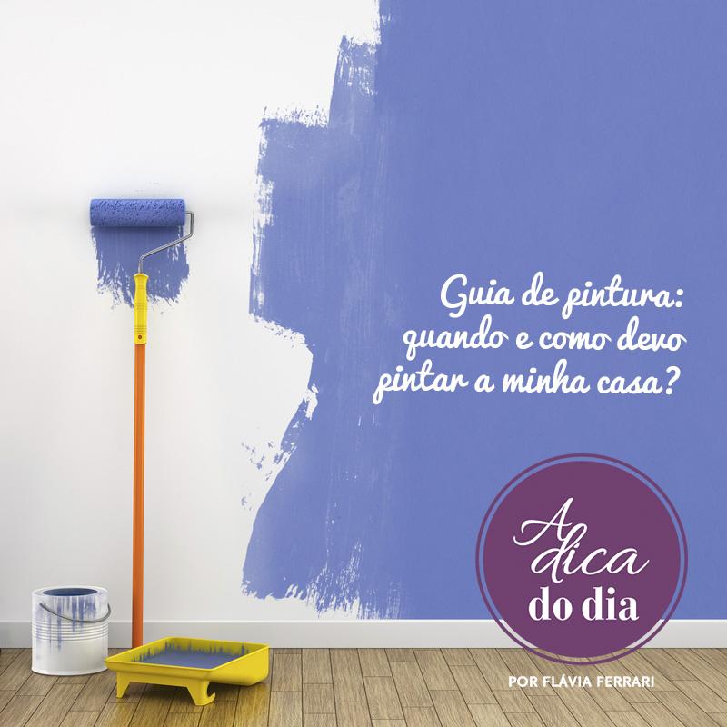 guia de pintura de como pintar a casa