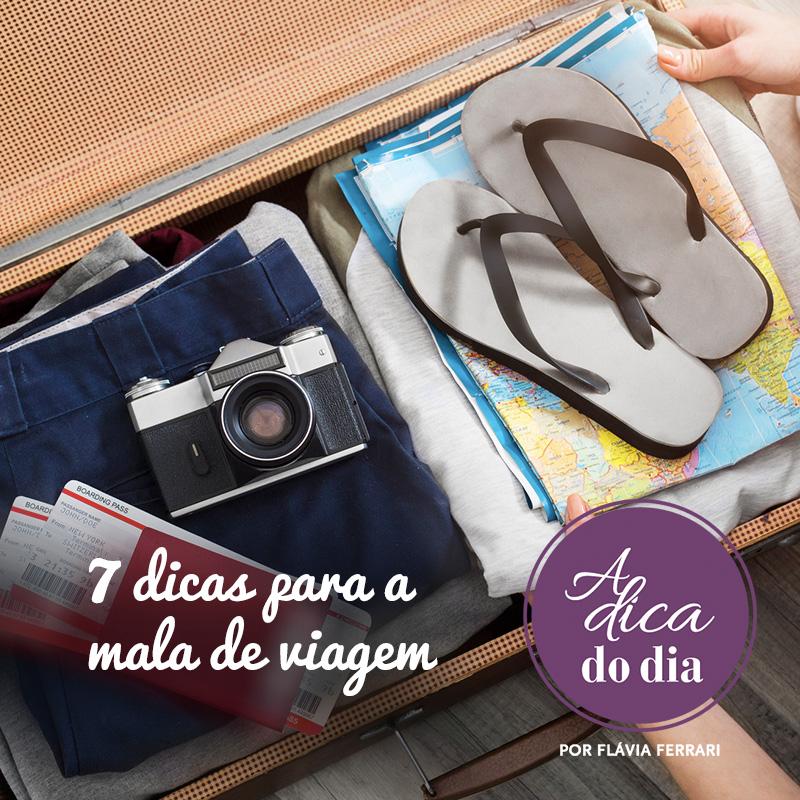 dicas para montar a mala de viagem perfeita