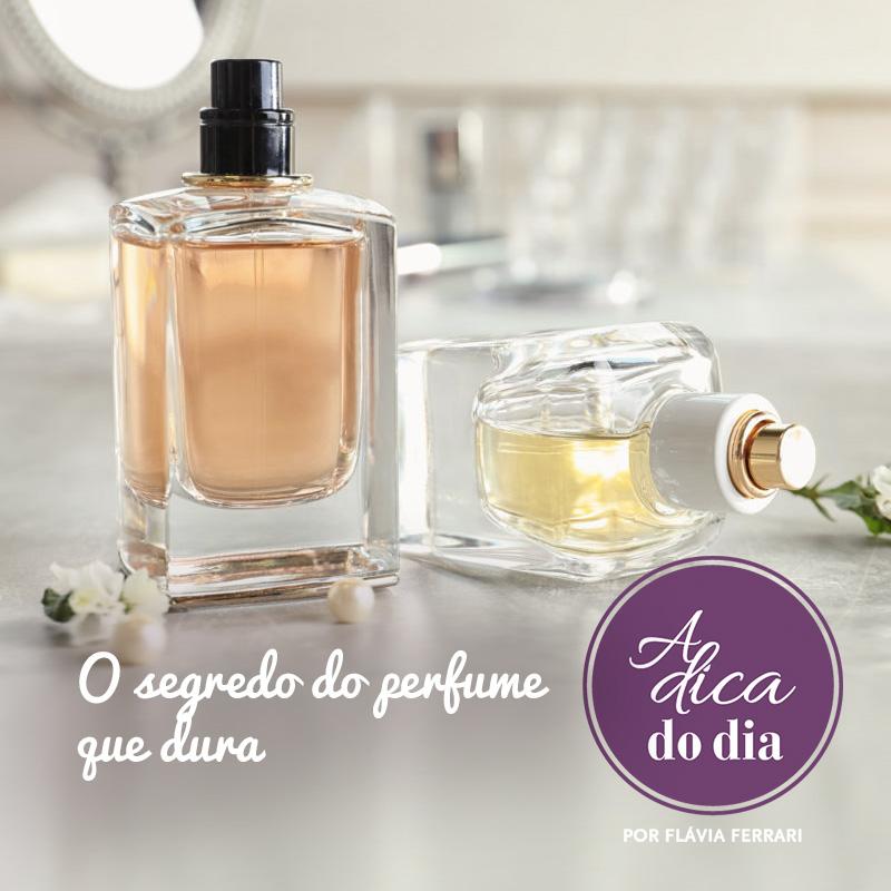 segredo para o perfume durar muito mais