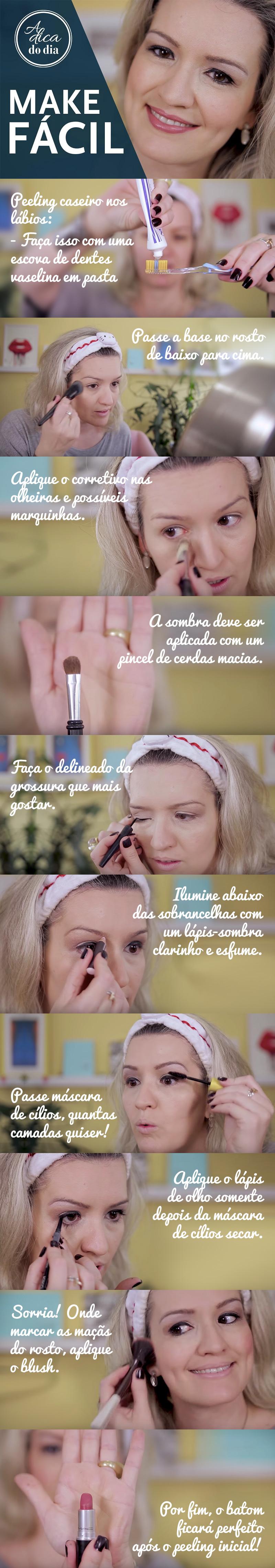 todas as dicas de maquiagem
