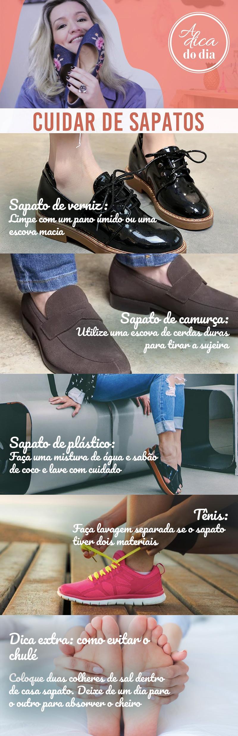 como cuidar de sapatos passo a passo a dica do dia Flávia Ferrari