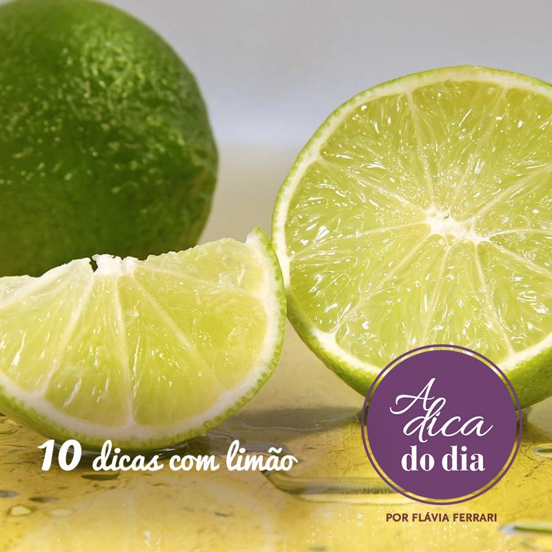 10 dicas com limão flavia ferrari