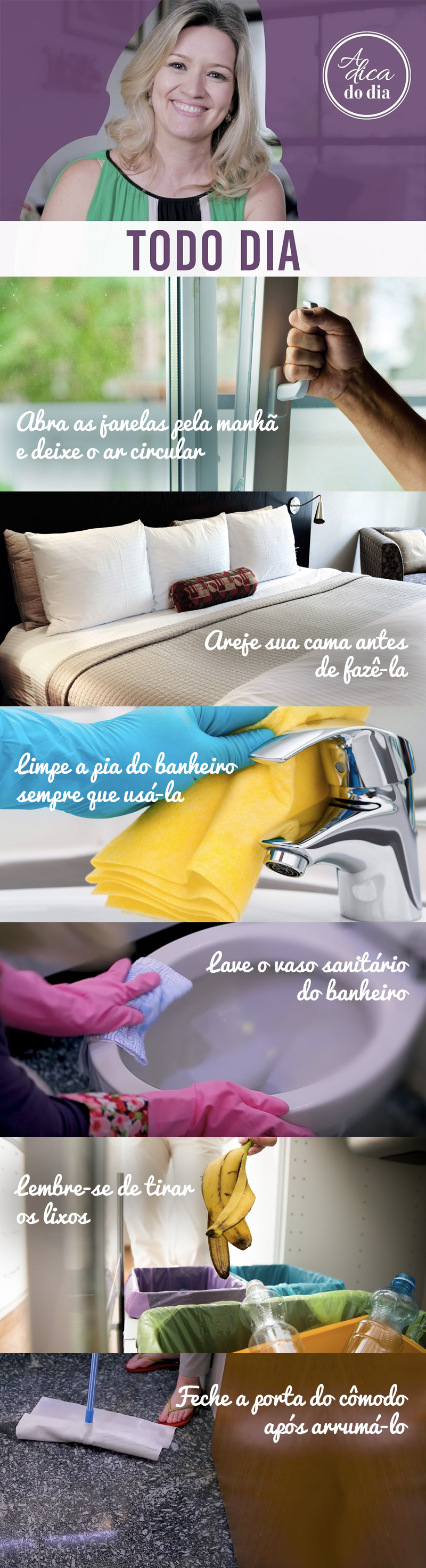 6 tarefas diarias da casa organizada flavia ferrari
