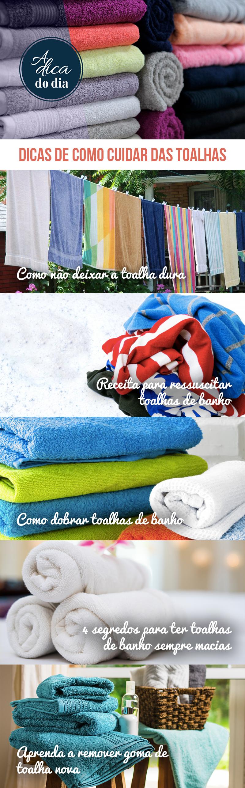 Dicas de como cuidar das toalhas Flávia Ferrari