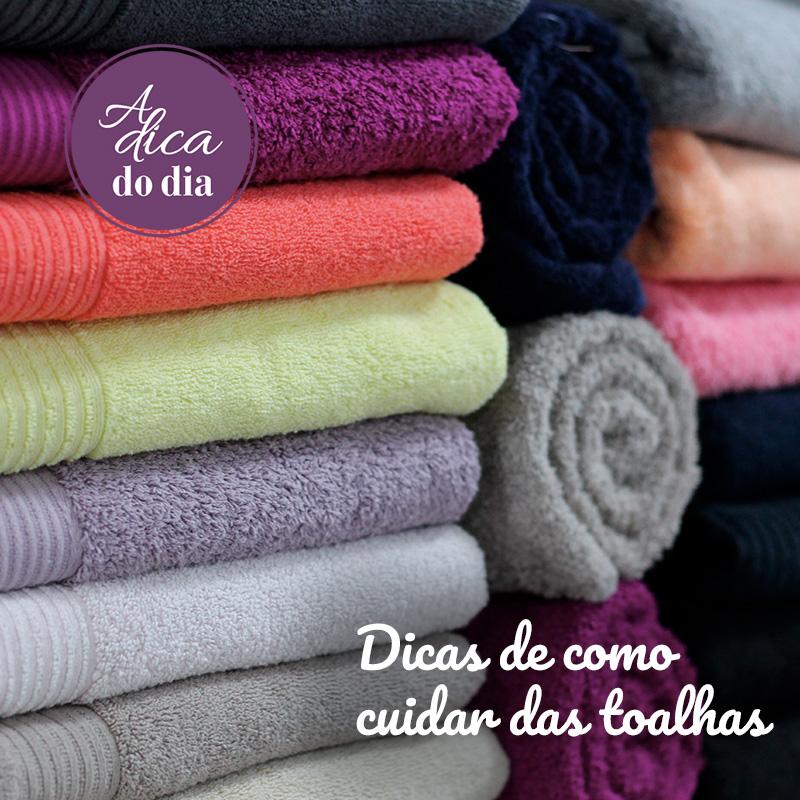 Como cuidar das toalhas Flávia Ferrari