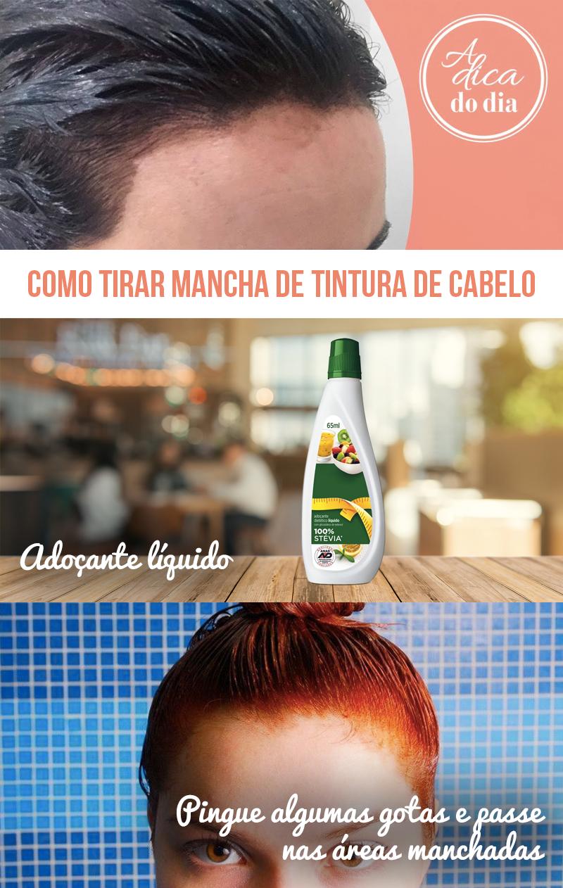 Como tirar mancha de tintura de cabelo Flávia Ferrari