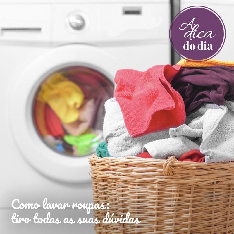 Como lavar roupas Flávia Ferrari