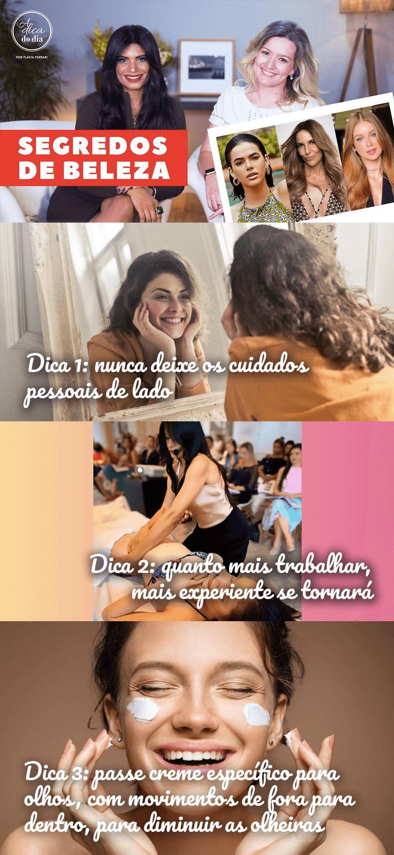Segredos de beleza com a massagista dos famosos Renata França - Flávia Ferrari
