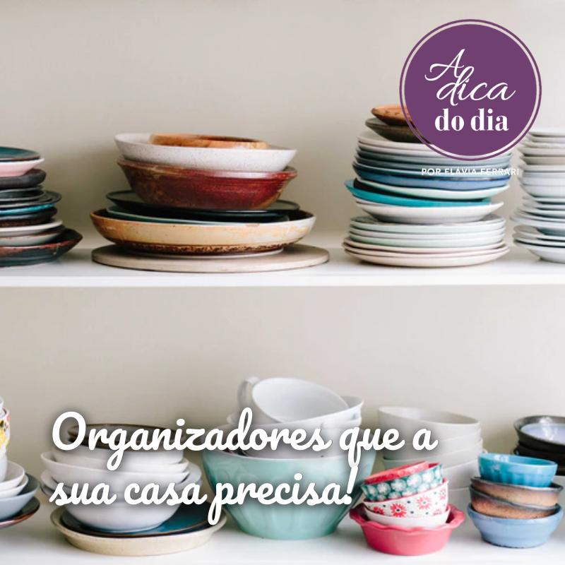 Top 10 produtos organizadores para sua casa!