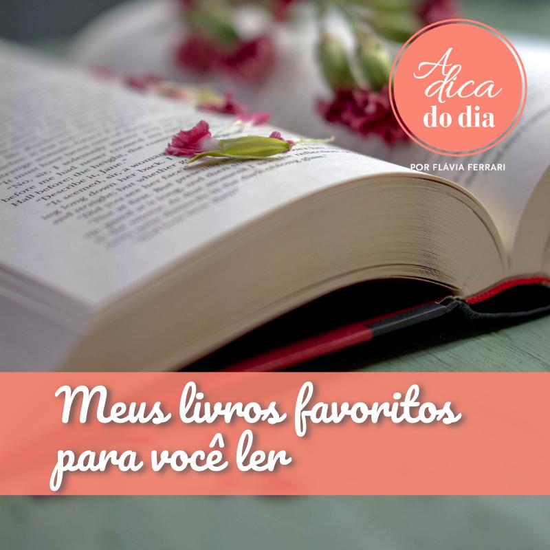 Meus livros favoritos para você ler