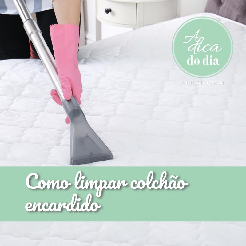Como limpar colchão em casa