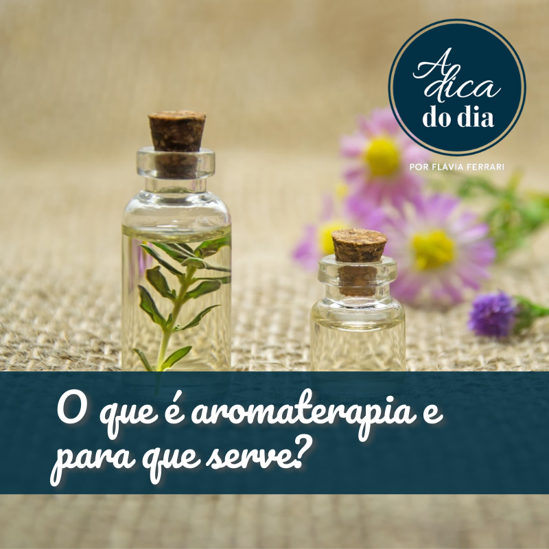 Aromaterapia o que é